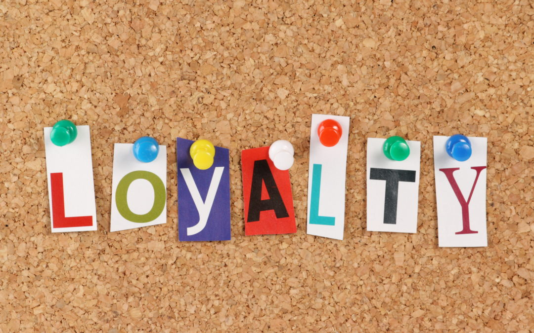This is an image representing the importance of building customer loyalty